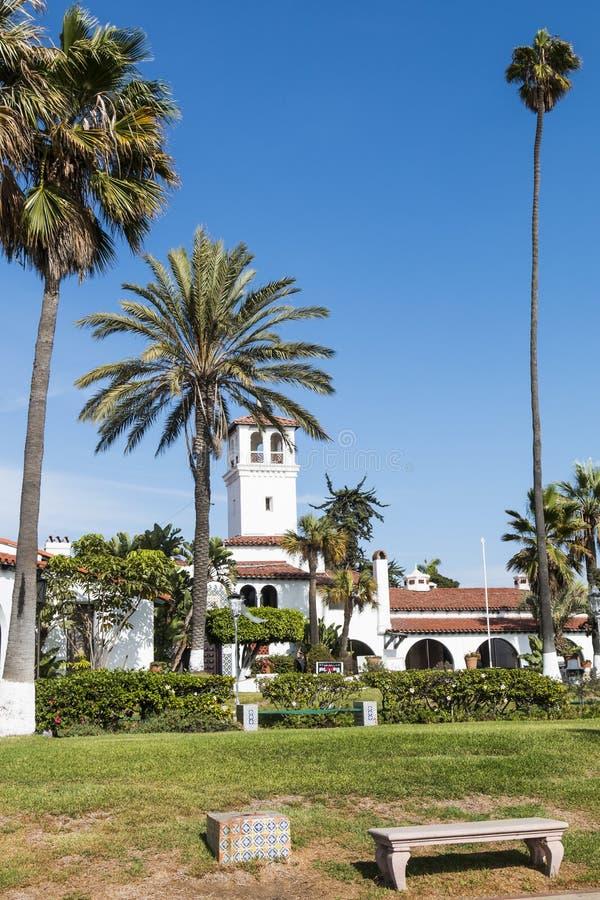 Precedente Hotel-casinò Playa Ensenada immagine stock libera da diritti