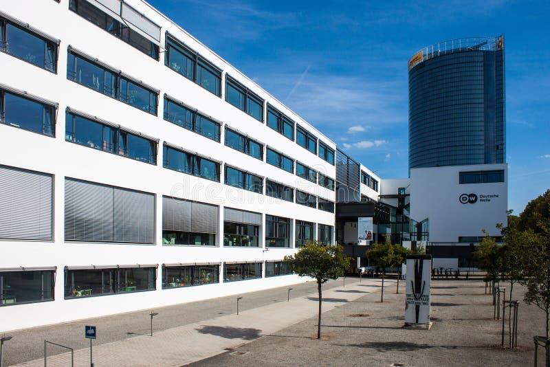 Precedenti costruzioni di governo a Bonn immagini stock