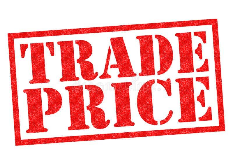 PRECIO COMERCIAL stock de ilustración