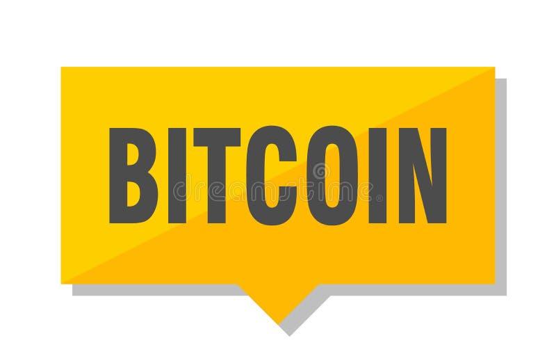 Precio de Bitcoin stock de ilustración