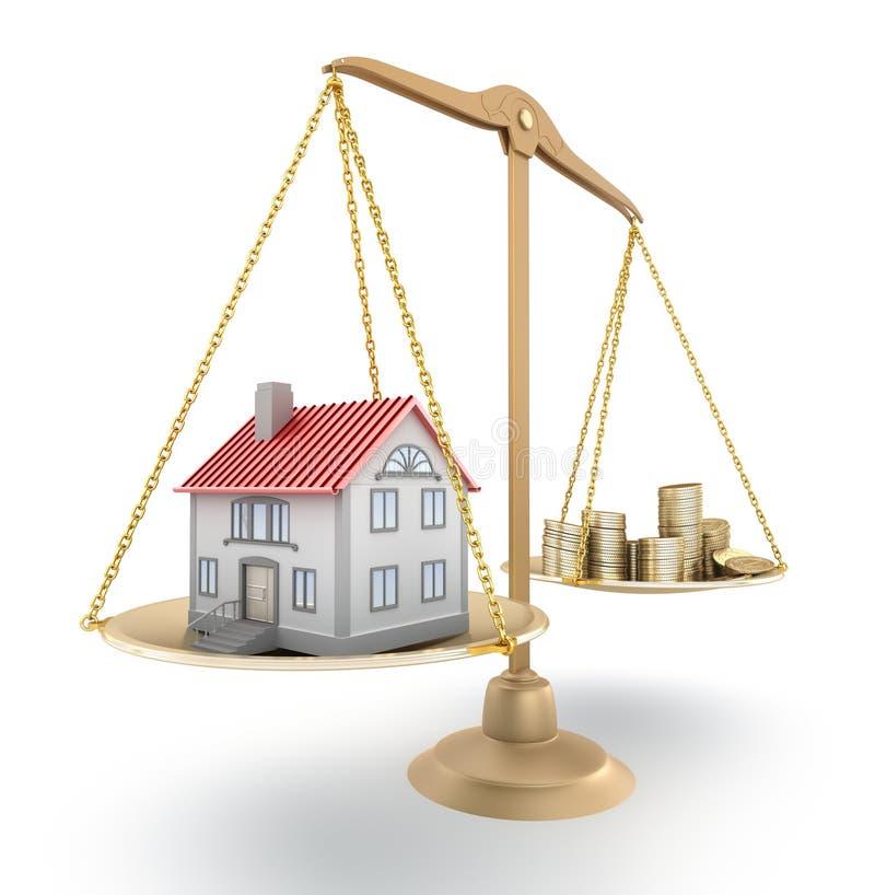 Precio de la vivienda libre illustration
