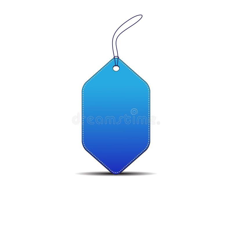 Precio en blanco imagen de archivo libre de regalías