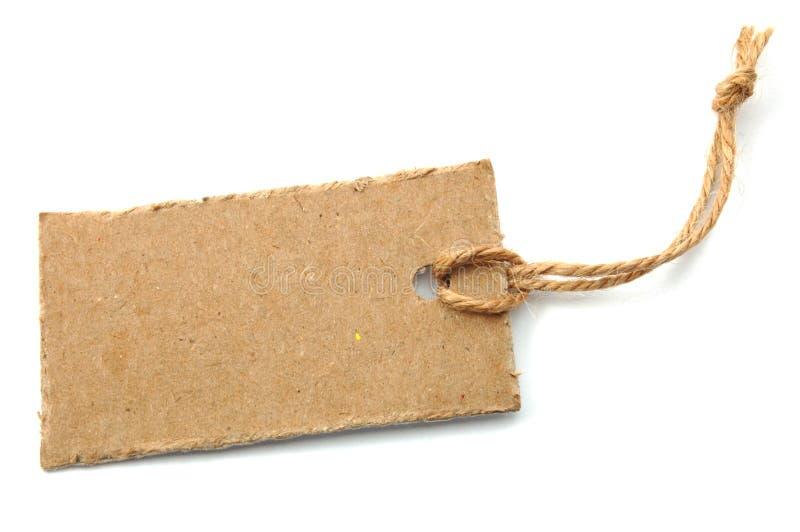 Precio en blanco fotos de archivo libres de regalías