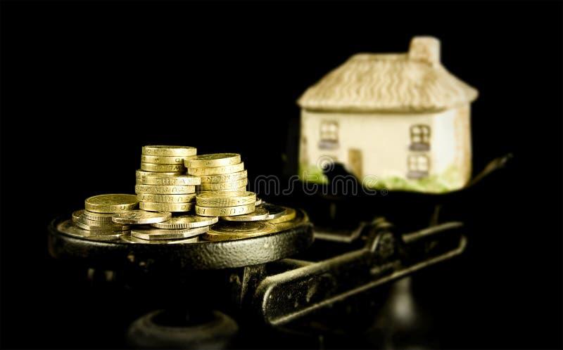 Precios de la vivienda fotos de archivo
