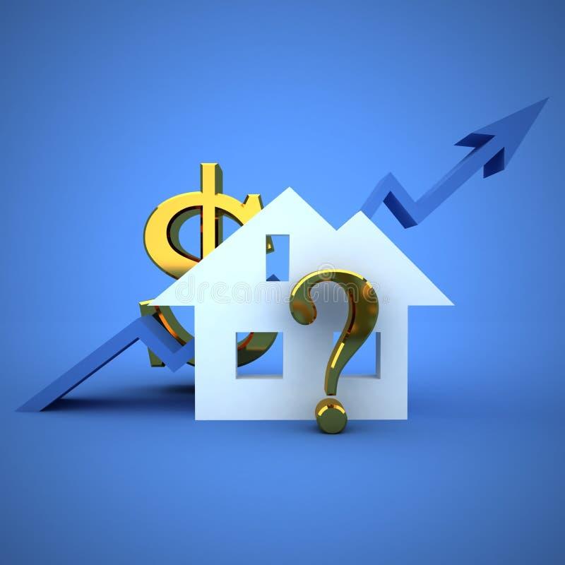 Precios de la vivienda libre illustration