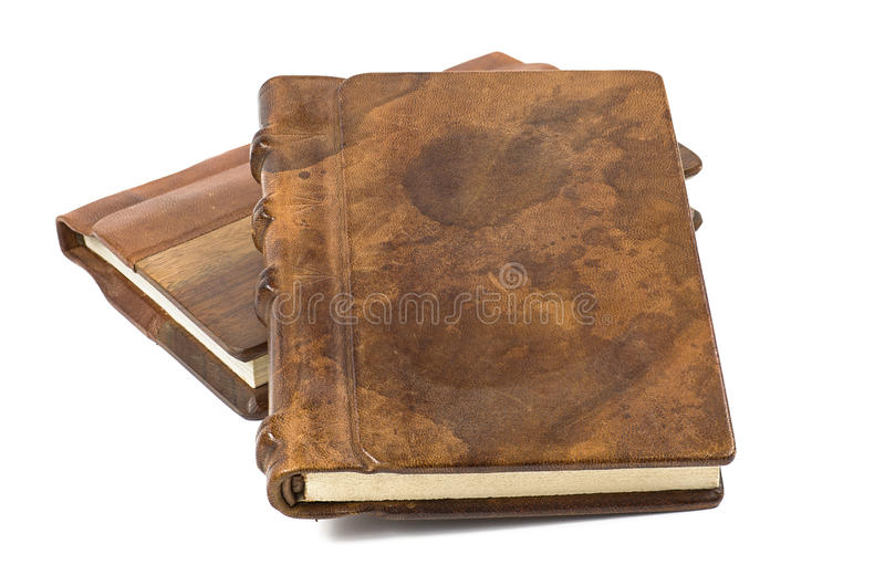 Download Precious Book With A Noble Leather And Wooden Cove Stock Photo - Image: 27227482