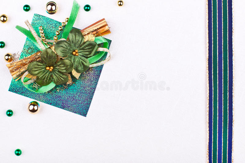 Download Precious Greeting Card With Flowers Stock Image - Image: 26234285
