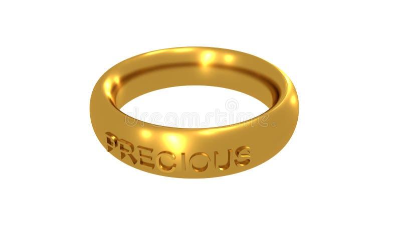 precious pierścionek royalty ilustracja