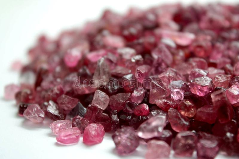 Precious and Semi-Precious Stone. Gemological gems jewelry mineral stock image