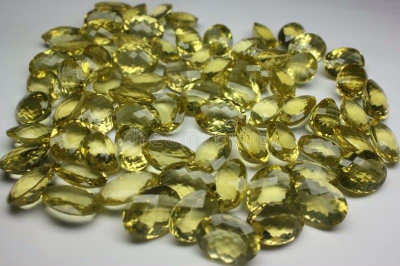 Precious and Semi-precious Stone. Gems gemological jewellery stock photography