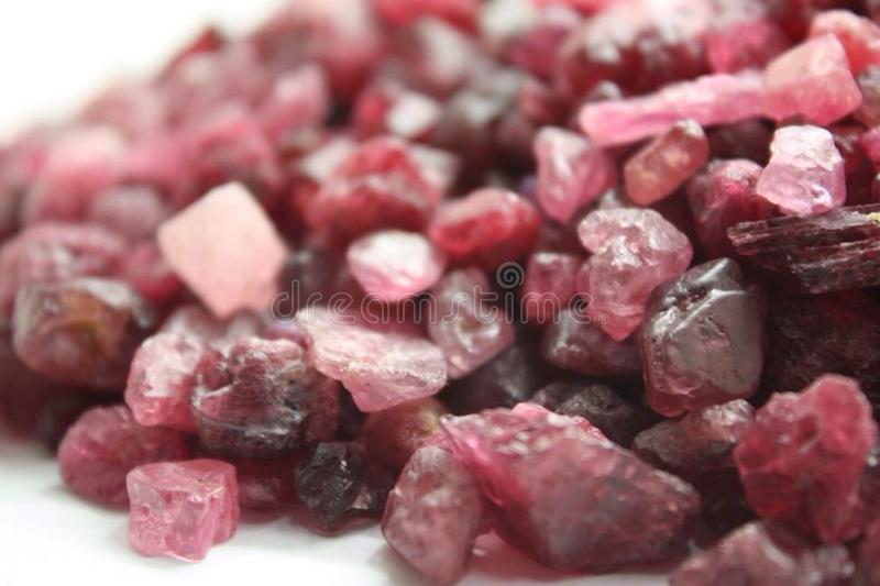 Precious and Semi-precious Stone. Gems gemological jewellery stock images