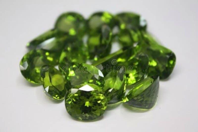 Precious and Semi-precious Stone. Gems gemological jewellery royalty free stock photos