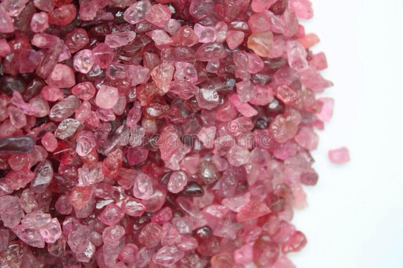 Precious and Semi-precious Stone. Gems gemological jewellery mineral royalty free stock images