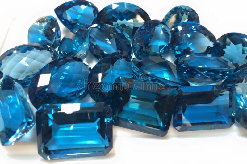 Precious and Semi-Precious Stone. Gems gemological jewellery mineral royalty free stock image