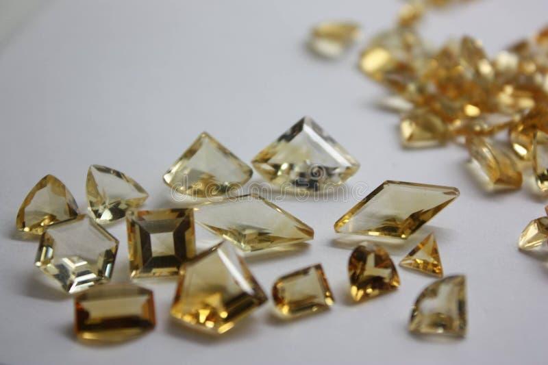 Precious and Semi-Precious Stone. Mineral gems gemological jewellery stock photos