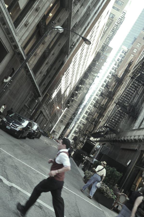 Precipitação de Chicago imagens de stock royalty free