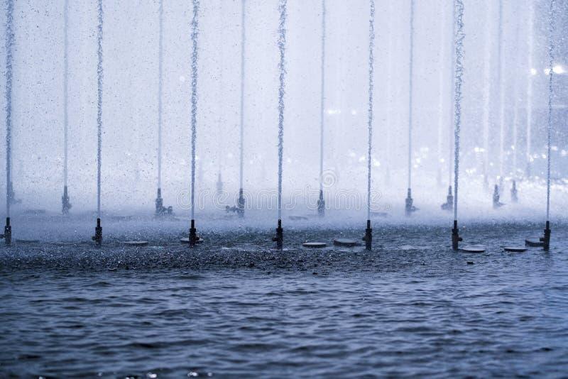 Precipitación del agua foto de archivo