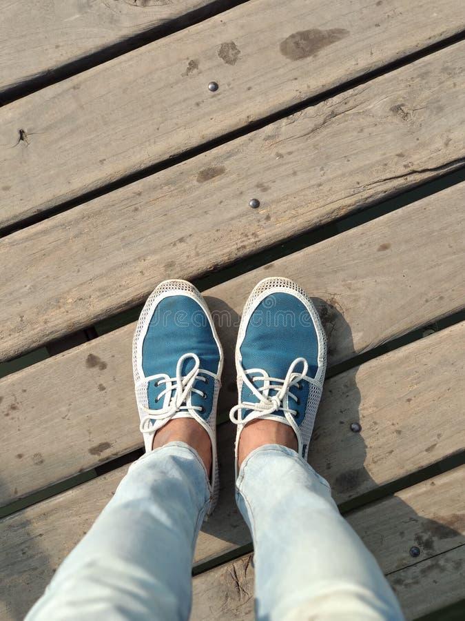 Precis ett trevligt par av mina perfekta skor royaltyfri bild
