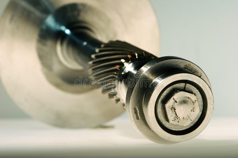 Precisie gebouwde turbine stock afbeeldingen