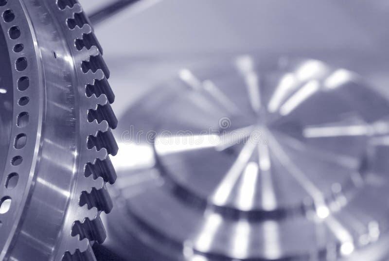 Precision engineering stock image