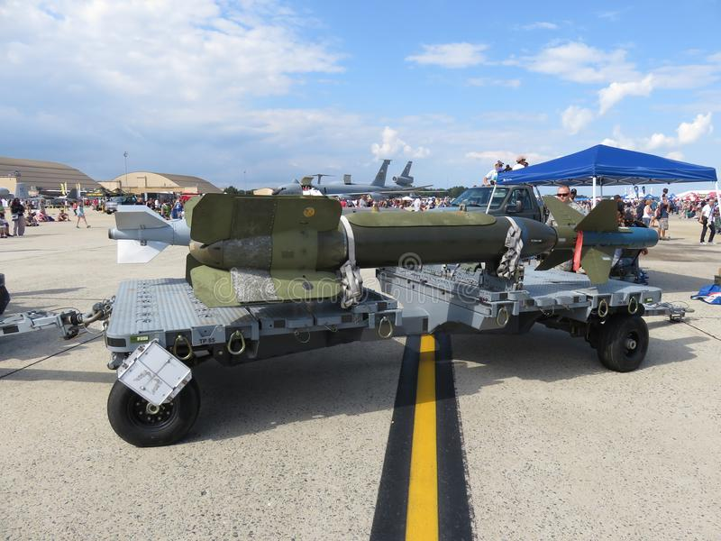 Precision Guided Bomb royalty free stock images