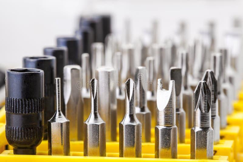 Precision Screwdriver Bit stock photos