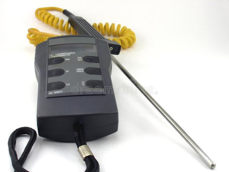 precisiontermometer arkivfoto