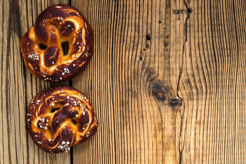 Precle, tradycyjna niemiec piec chleb fotografia royalty free