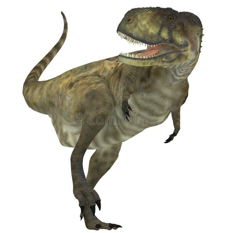 Predador do Abelisaurus ilustração royalty free