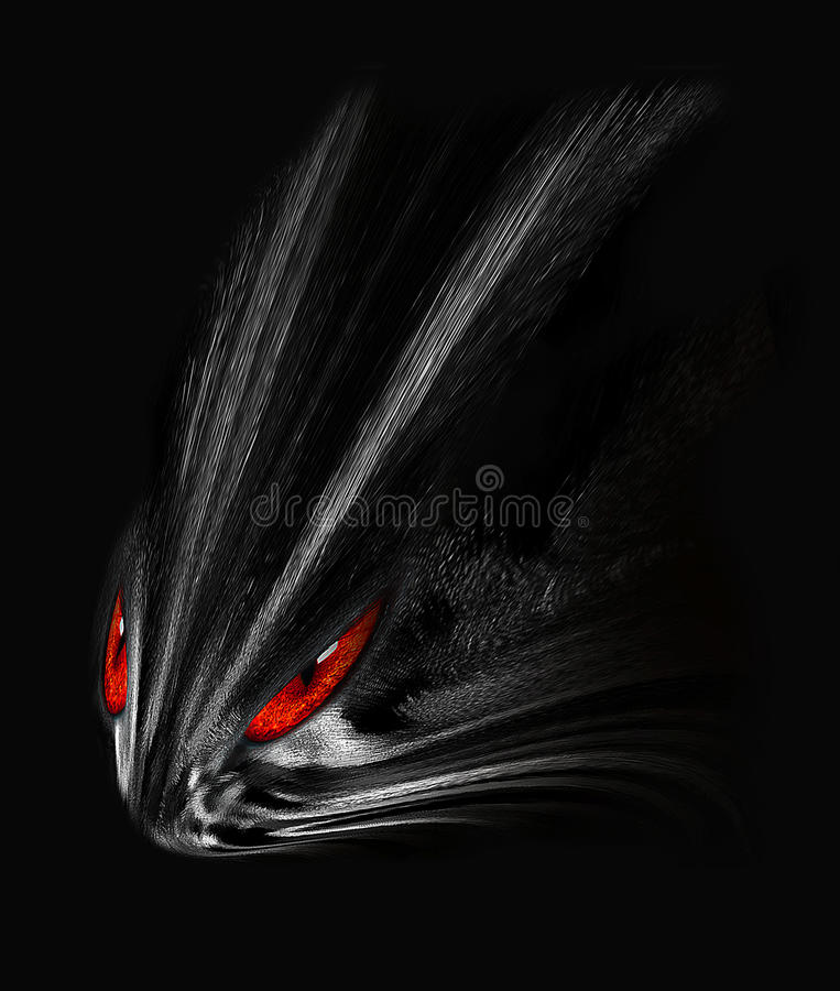Predator abstract illustration stock photography