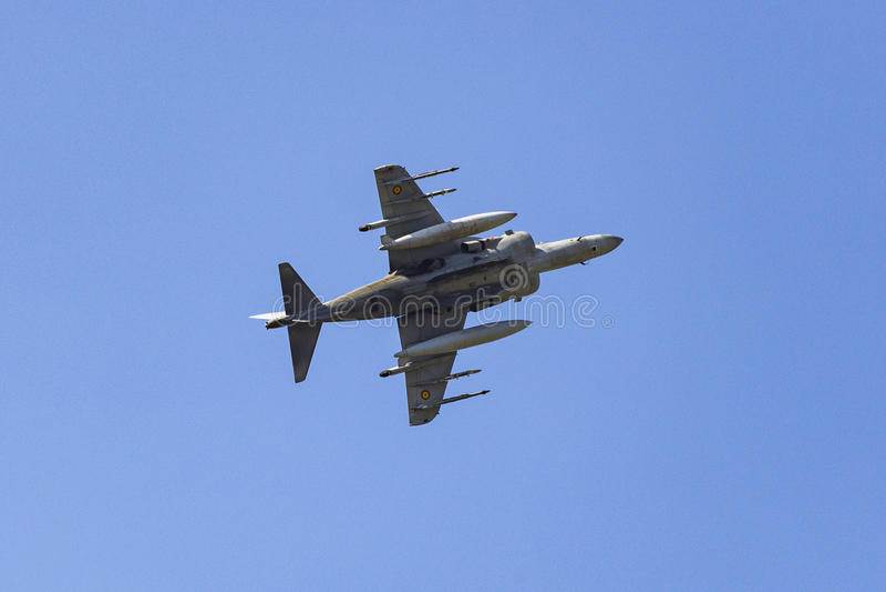 Predatori di McDonnell Douglas AV-8B II & x28; EAV-8B Matador II& x29; immagine stock