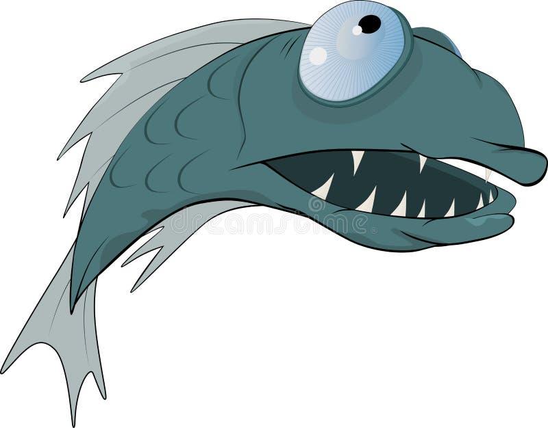 Predatory Fisk Arkivfoto
