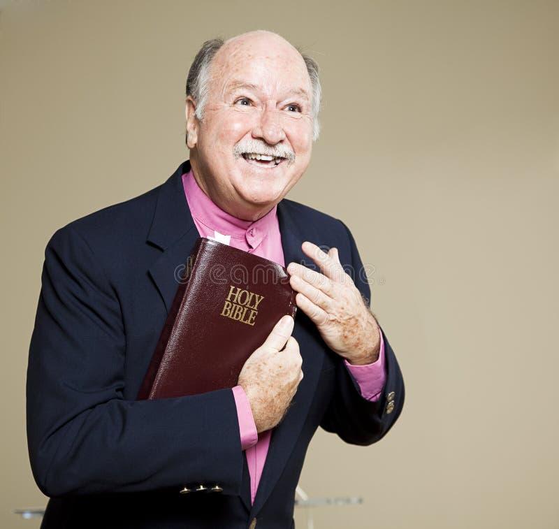 Predica del vangelo fotografie stock libere da diritti