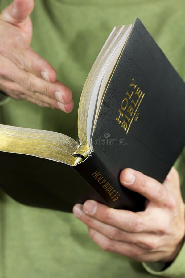Predicación imágenes de archivo libres de regalías