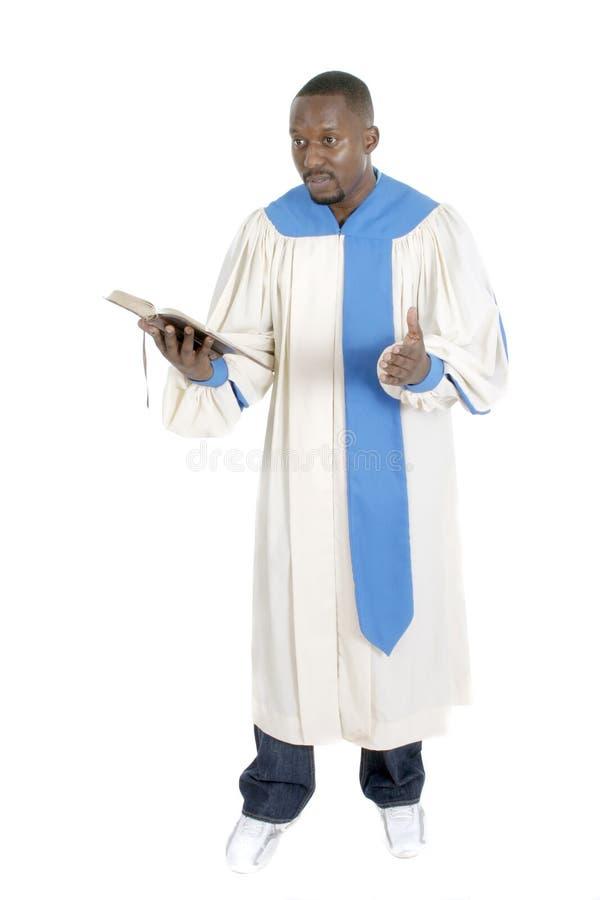 Predicador 1 fotos de archivo libres de regalías