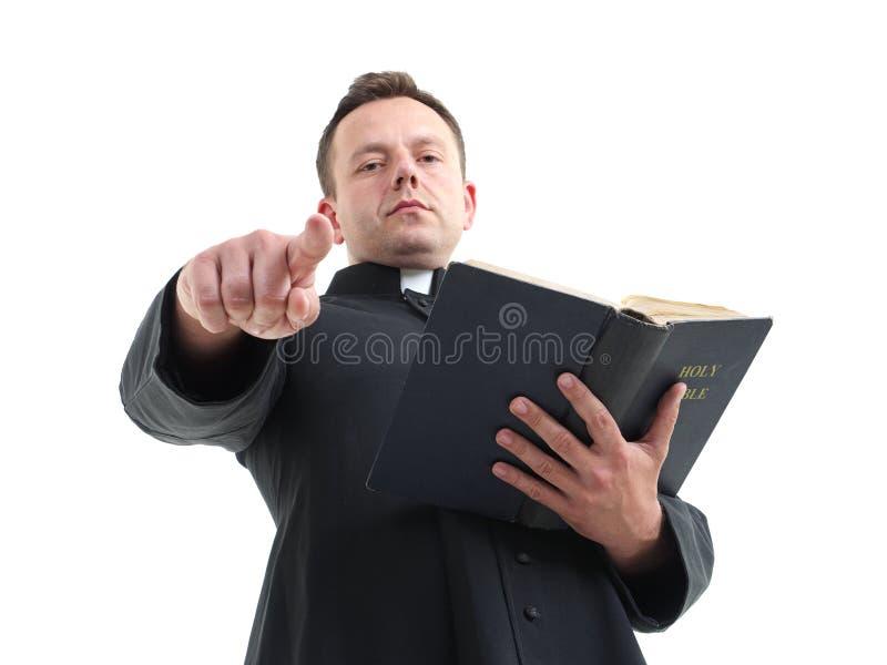 Predicador fotos de archivo libres de regalías