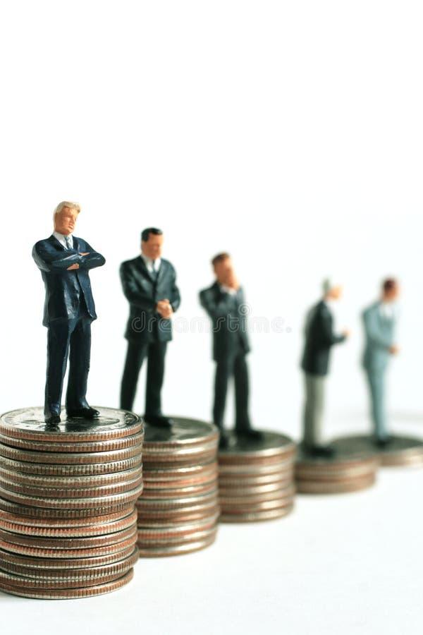 Predicción financiera fotografía de archivo