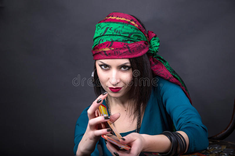 Predicting the future, access to the astral royalty free stock photos