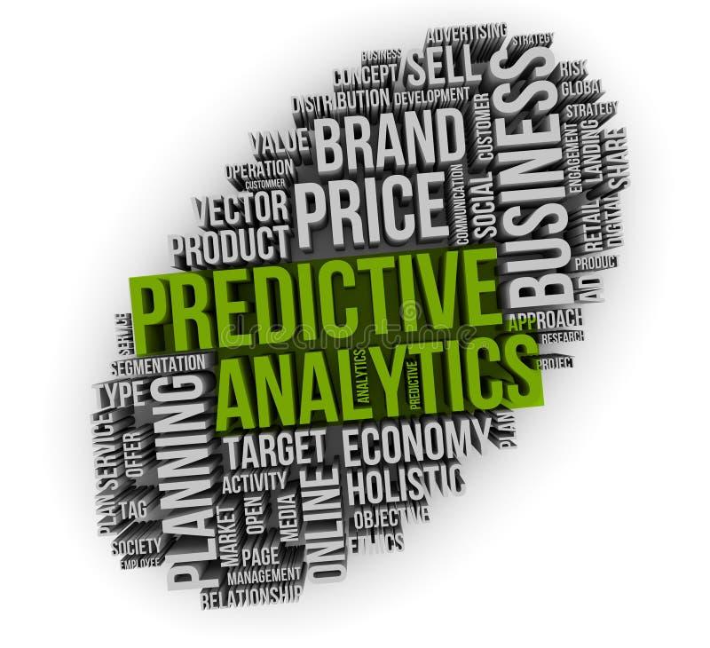 Predictive analytics stock illustrationer