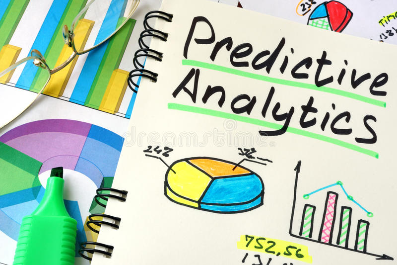Predictive Analytics. royalty free stock photography