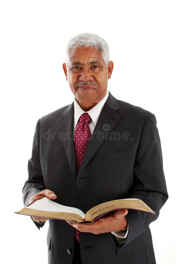 Predikant stock afbeeldingen