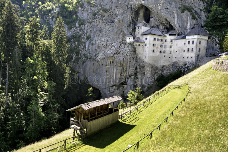 Predjama Castle. The castle of Predjama, in Slovenia, for over 700 years it dominates the 123-meter cliff