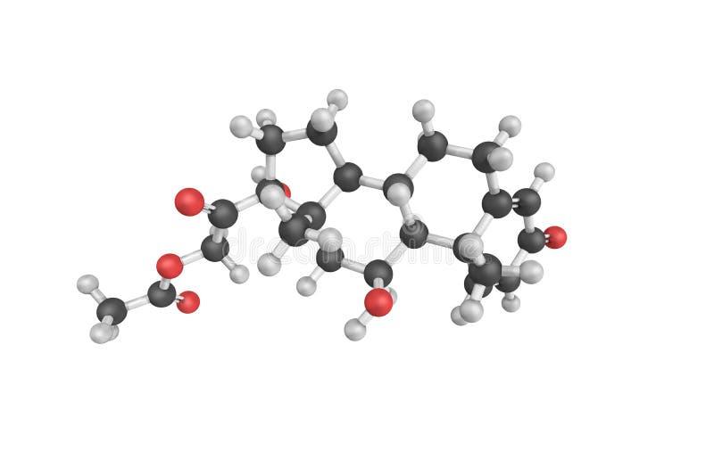 Prednisolone, een steroid medicijn dat wordt gebruikt om bepaalde types o te behandelen stock afbeeldingen
