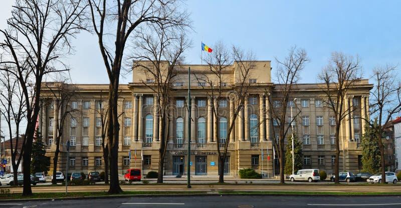 Prefectura de la ciudad de Timisoara imagen de archivo