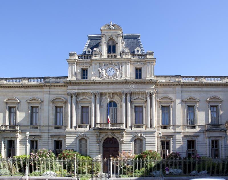 Prefectura en Montpellier foto de archivo