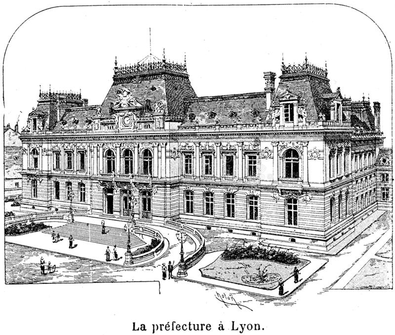Download Prefecture-Lyon-001 stock photo. Image of  - 83041590