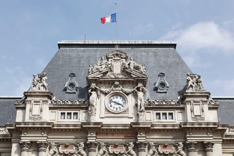 Prefectuur van de Rhône in Lyon stock foto