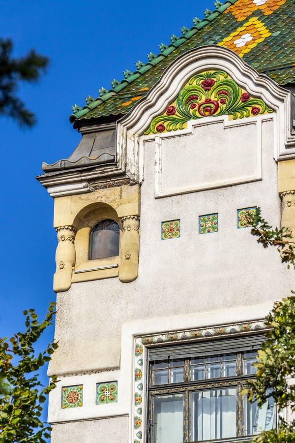 Prefectuur van Mures in Targu Mures, Roemenië royalty-vrije stock foto's