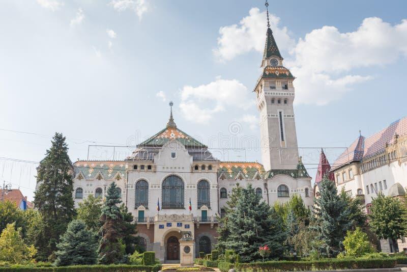 Prefectuur van Targu Mures stock afbeelding