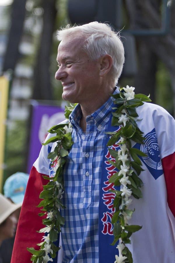 Prefeito de Honolulu foto de stock royalty free